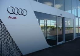 Timisoara Usi automate, usi sectionale Porsche Timisoara Proiect Aluterm Group (3)
