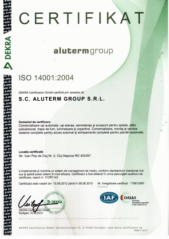 Certificari 2004
