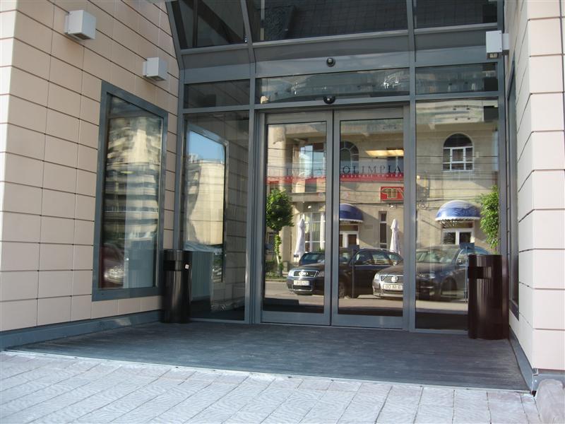 Automatizari usi culisante Siatec la Olimpia Business Center Cluj Napoca