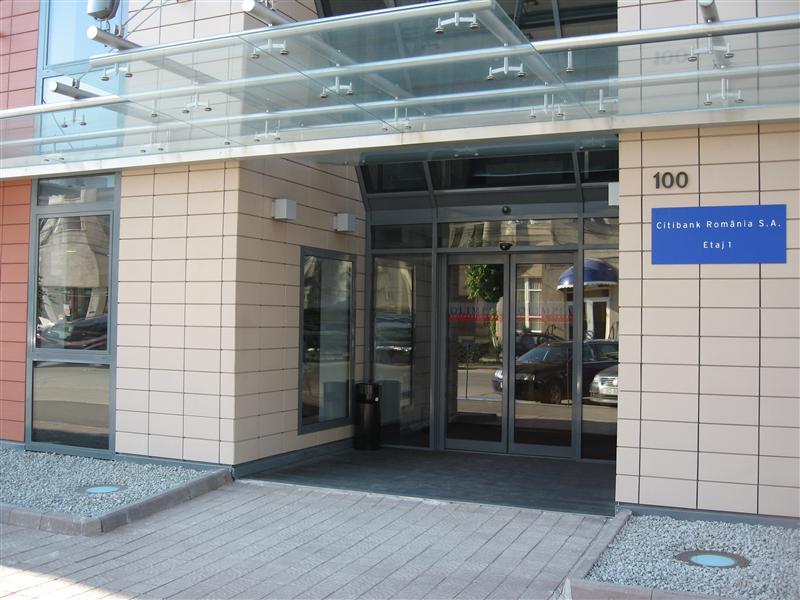 Automatizari usi culisante la Olimpia Business Center Cluj Napoca, usa culisanta automata