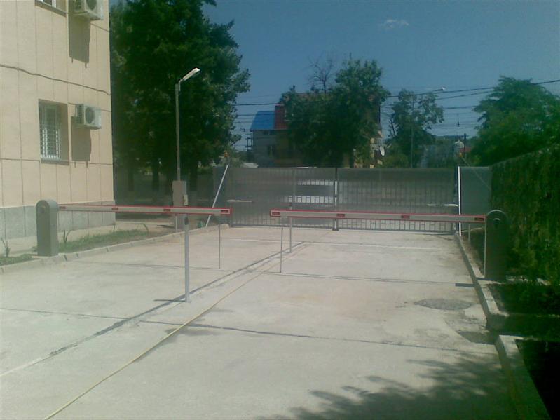 Bariere automate la Garnizoana Bucuresti