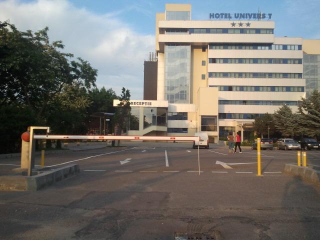 Bariere Automate la Hotel Univers T