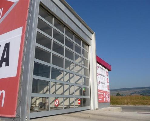 Usi spalatorie auto, Polus Mall, Cluj