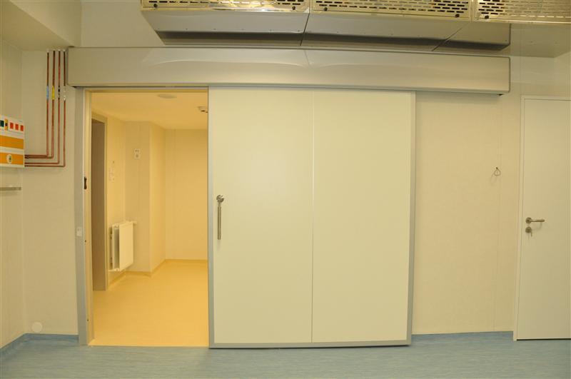 Spital Piatra Neamt, usi glisante ermetice