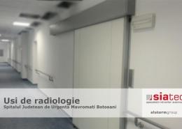 Usi de radiologie