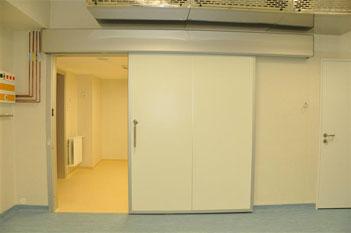 usa rezistenta la foc - Spitalul Suceava, usa radiologie
