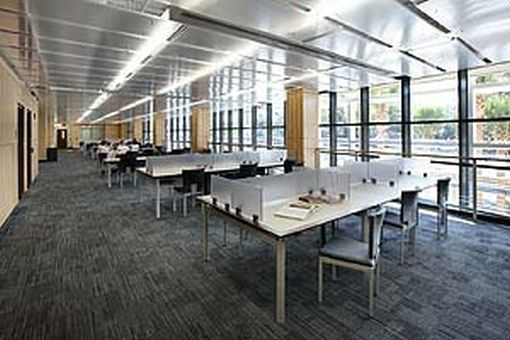 Library West interior