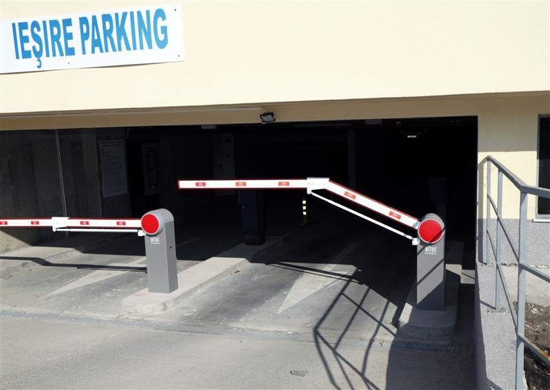 Parcare cu casă automată