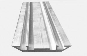 Profil presor din aluminiu anodizat