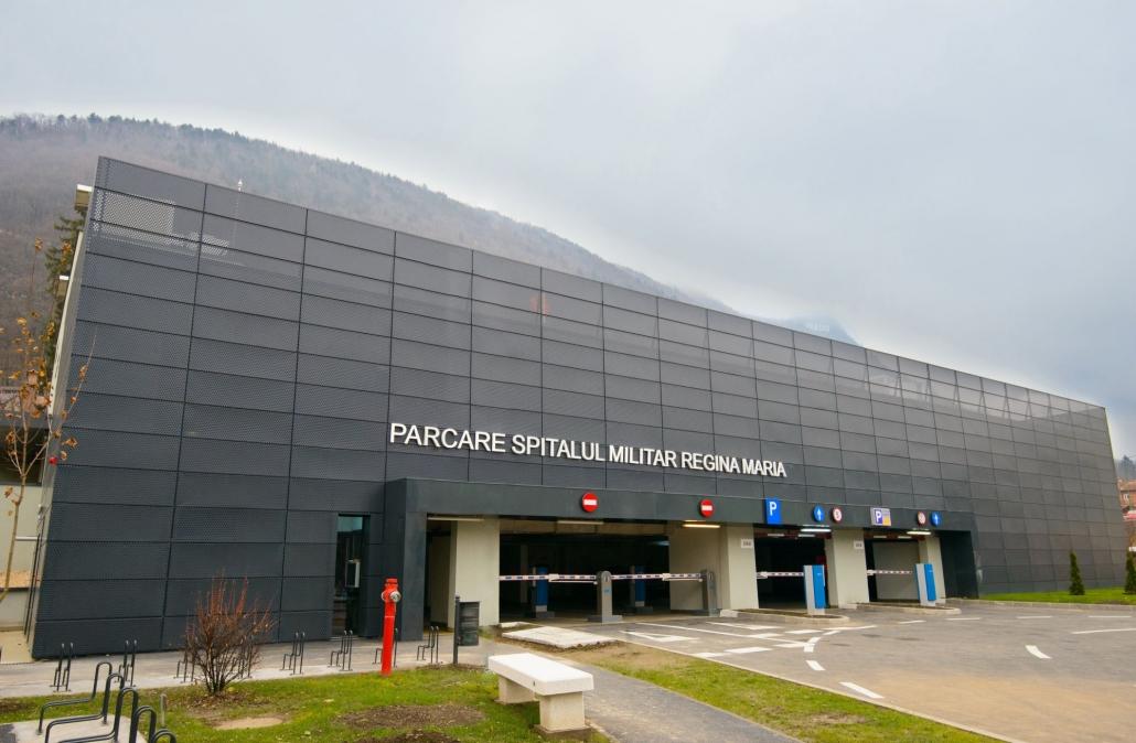 Spitalul Militar Regina Maria, sistem de parcare, Parcare Brasov (6)
