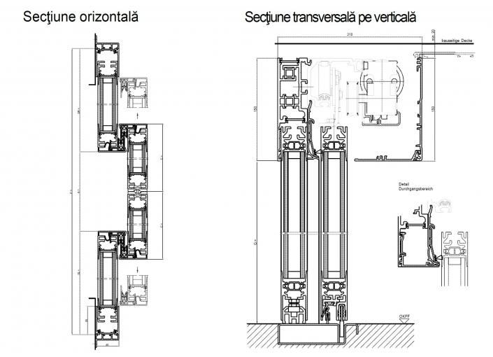 Izolare Termica - Usi automate culisante Thermcord
