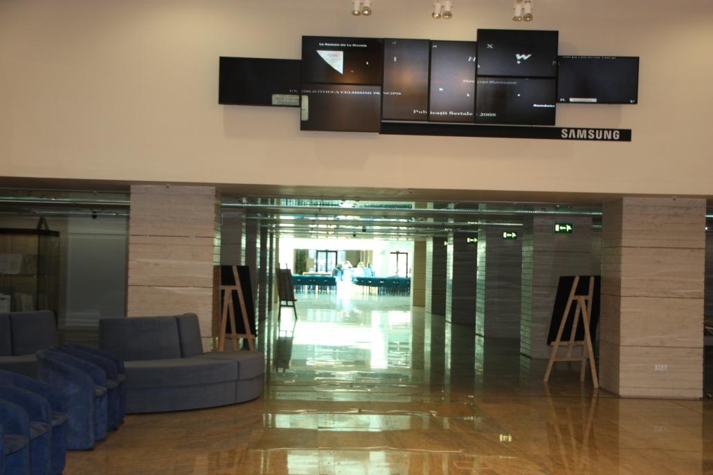 Biblioteca Nationala, automatizare ferestre