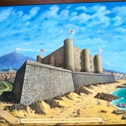 Castello Ursino inainte de Eruptia Etnei, Muzeul Civico - Sursa - Wordpress.com - O luna de vacanta