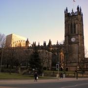 Catedrala din Manchester - Sursa - FullHDPictures.com