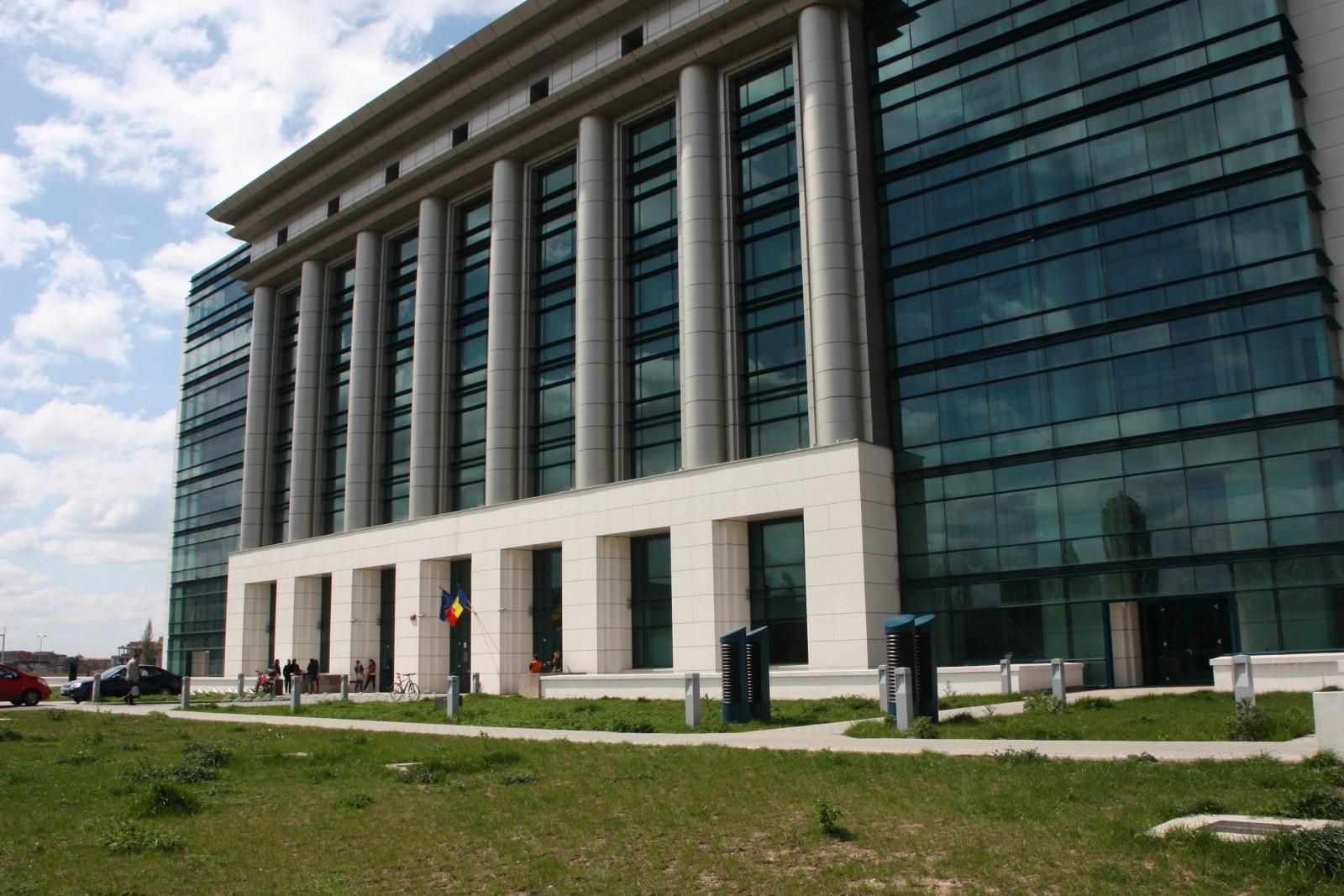 Biblioteca Nationala Fatada