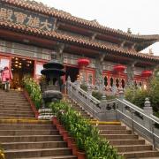 Manastirea Po Lin - Sursa - Wikimedia.org - O luna de vacanta