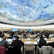 Natiunile Unite Geneva, Sala de Sedinta - Sursa - Unwatch.org