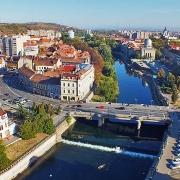 Panorama Oradea din Turnul Primariei- Sursa - Photobucket.com