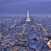 Parisul vazut de pe Turnul Montparnasse - Sursa - Wordpress.com