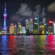 Shanghai seara - Sursa - Tumblr.com - O luna de vacanta