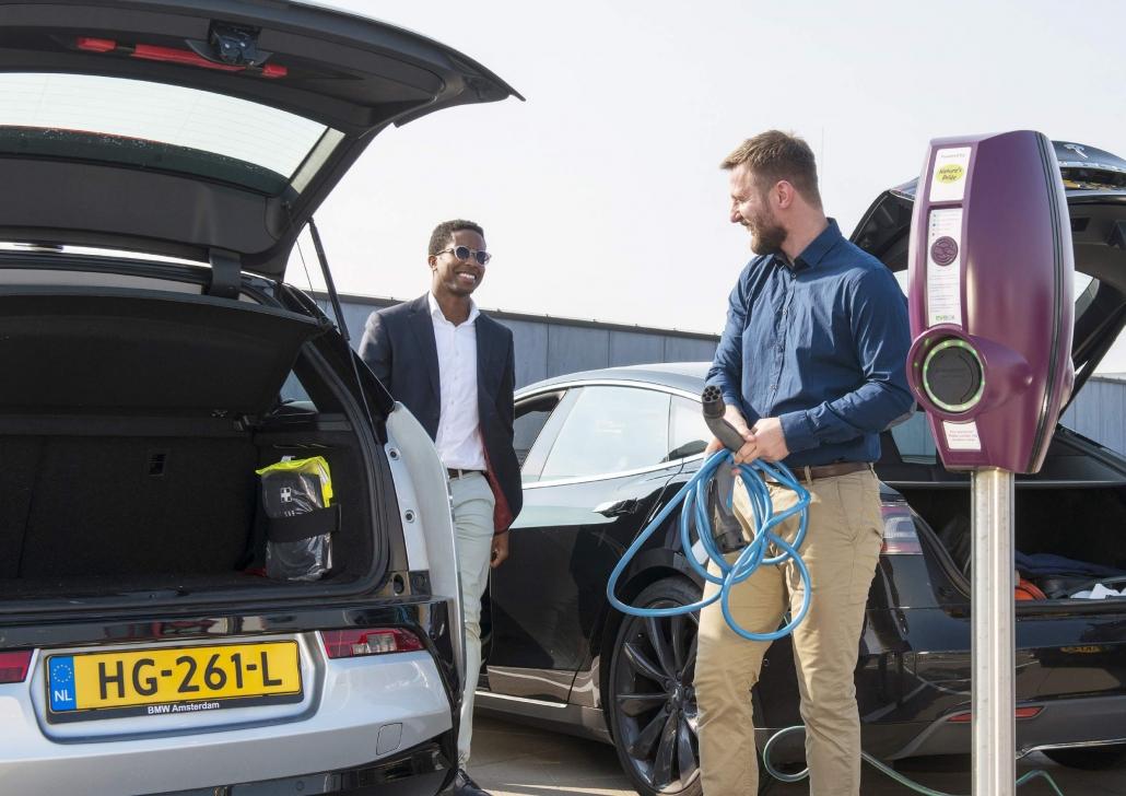 Ev-box, solutii incarcare automobile electrice, statii incarcare electrice, masini electrice