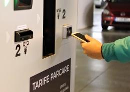 Plata taxa de parcare cu telefonul mobil